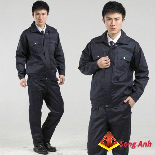 May quần áo công nhân 01
