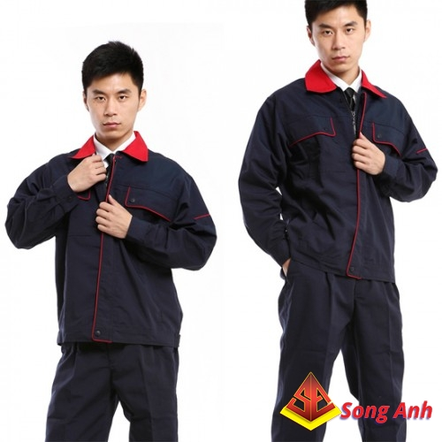Đồng phục công nhân mẫu 12