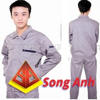 Đồng phục công nhân mẫu 01