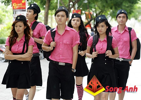 Đồng phục học sinh mẫu 12
