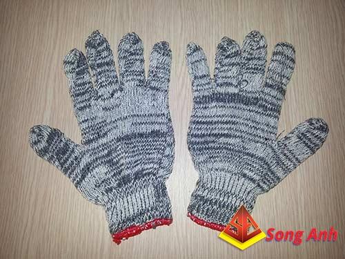 Găng tay len xám03