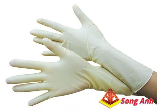 Găng tay y tế Macro có bột 01