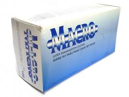 Găng tay y tế Macro có bột