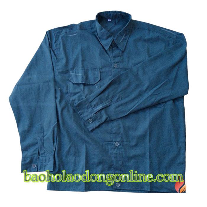 May áo công nhân giá rẻ