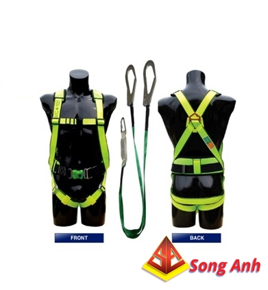 Dây an toàn toàn thân Hàn quốc Kukje 2 móc sắt