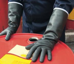 Găng tay chống axit