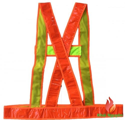 Áo phản quang dây màu đỏ
