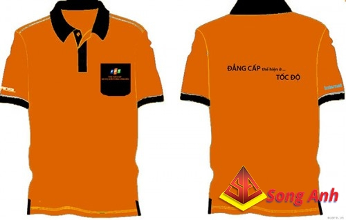 Đồng phục áo thun mẫu 10