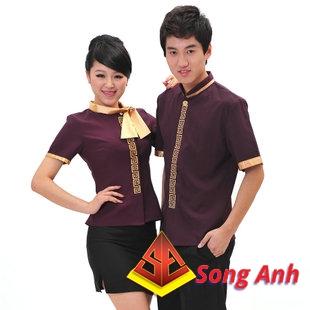 Đồng phục nhà hàng mẫu 04