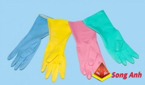 Găng tay cao su gia dụng GaBy