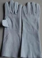 Găng tay da hàn dài 1 lớp