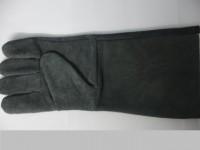 Găng tay da hàn màu đen