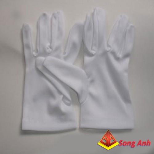 Găng tay thun màu kem AD