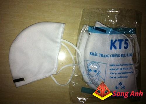 Khẩu trang vải KT5 trắng