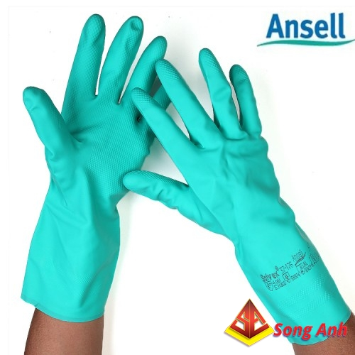 Găng tay chống axit Ansell AE 37-176