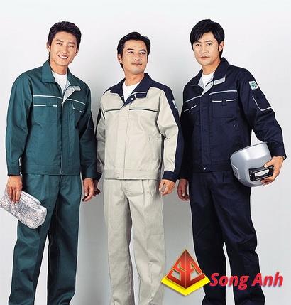 May quần áo công nhân 02