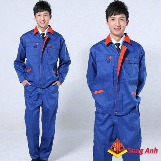 May quần áo công nhân 03