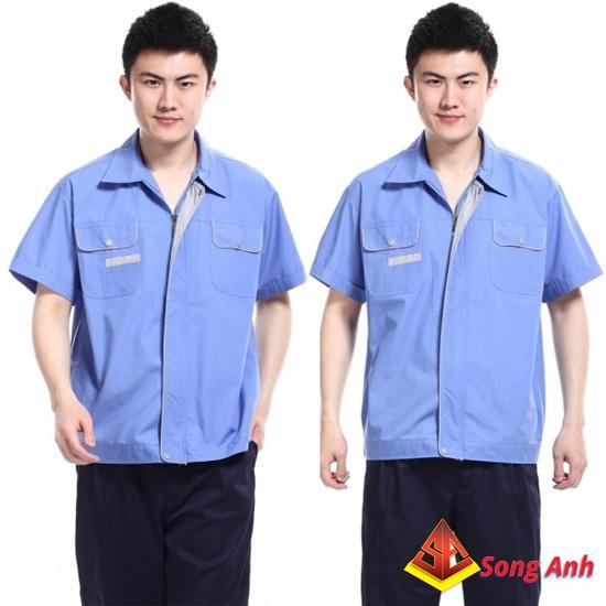 Đồng phục công nhân mẫu 07